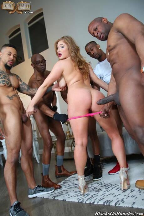 Milf Interracial Gangbang Porn